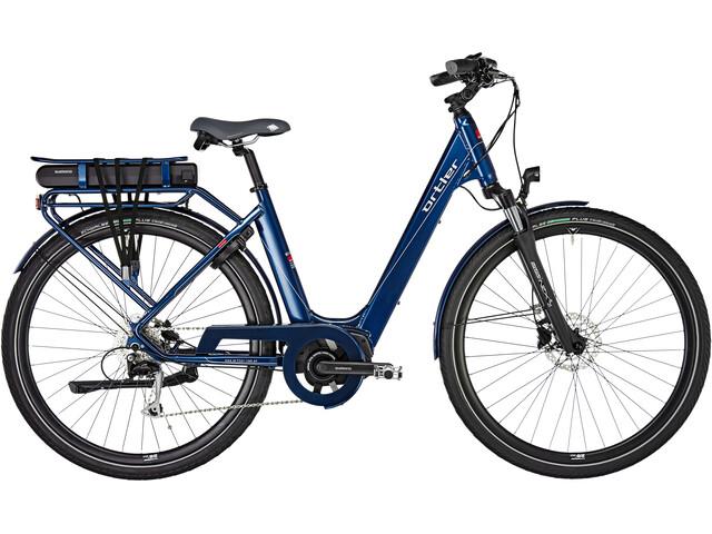 Ortler Montana E-trekkingcykel blå (2019) | City-cykler